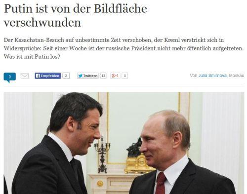 Sehnsucht nach Putin