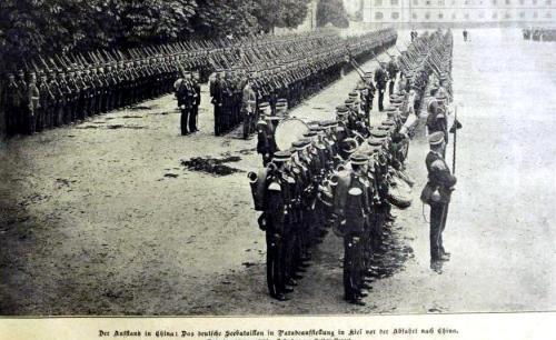 Das deutsche Seebataillon 1910