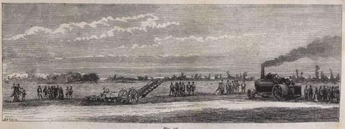 Fowlerscher Dampfpflug 1868 A