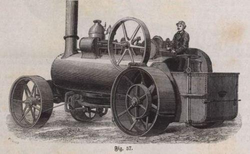 Fowlerscher Dampfpflug 1868 B