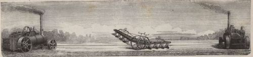 Fowlerscher Dampfpflug 1868 C