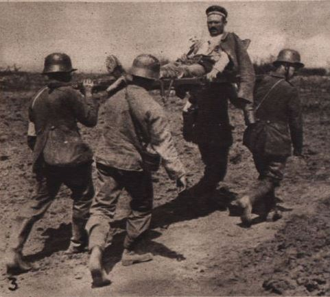 Verwundetentransport Arras 1917