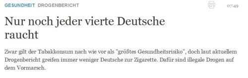 Tabaksteuer