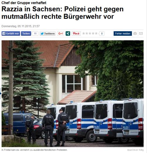 Endlich Polizei jagd Gedankenverbrecher