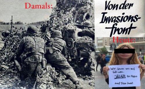 Von der Invasionsfront
