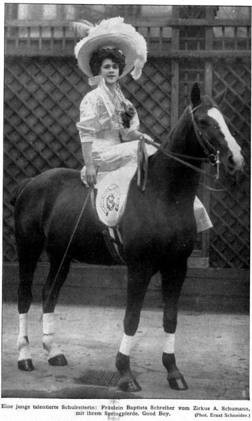 Baptista Schreiber 1909
