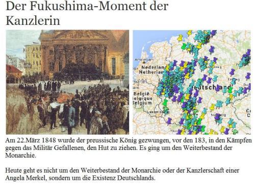Der Fukushima Moment
