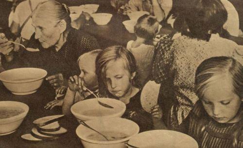 Flüchtlinge August 1939