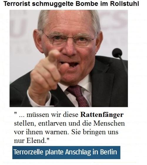 Schäuble außer Kontrolle