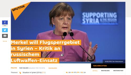 Was Merkel will