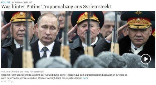 Putin ist nicht bauchgesteuert