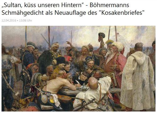 Ist Jan Böhmermann ein Kosack
