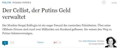 Jetzt muß Putin zurücktreten