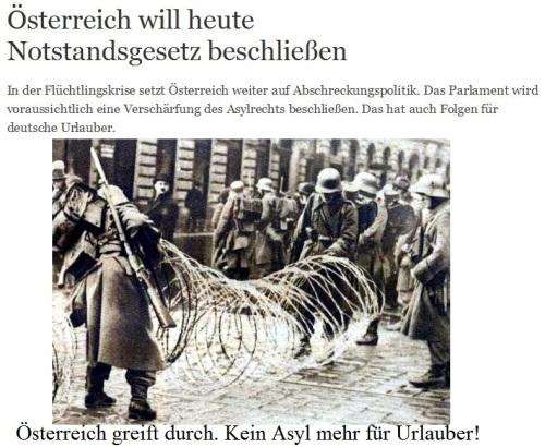 Kein Asyl mehr für deutsche Urlauber
