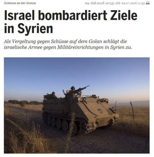 Israel an der Seite des IS