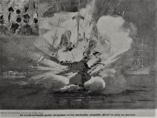 Explosion der Maine