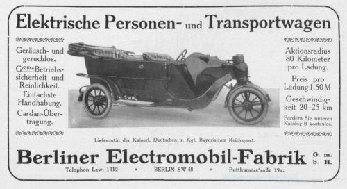 Tesla von 1912