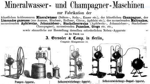 Mineralwassermaschine