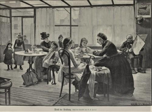 Nach der Prüfung 1891